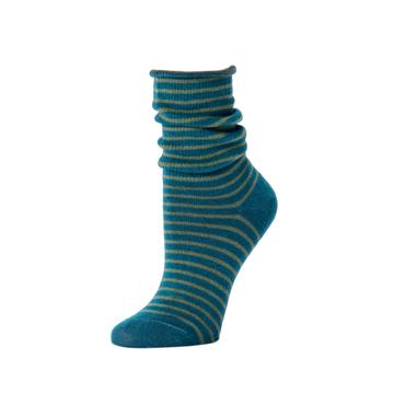 Striped Slouch Sock