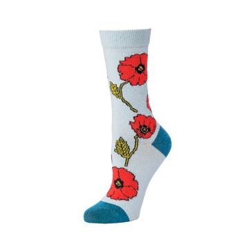 Floral Crew Sock