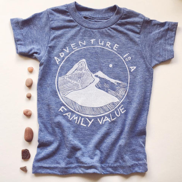 Kid's Adventure is a Family Value Tee