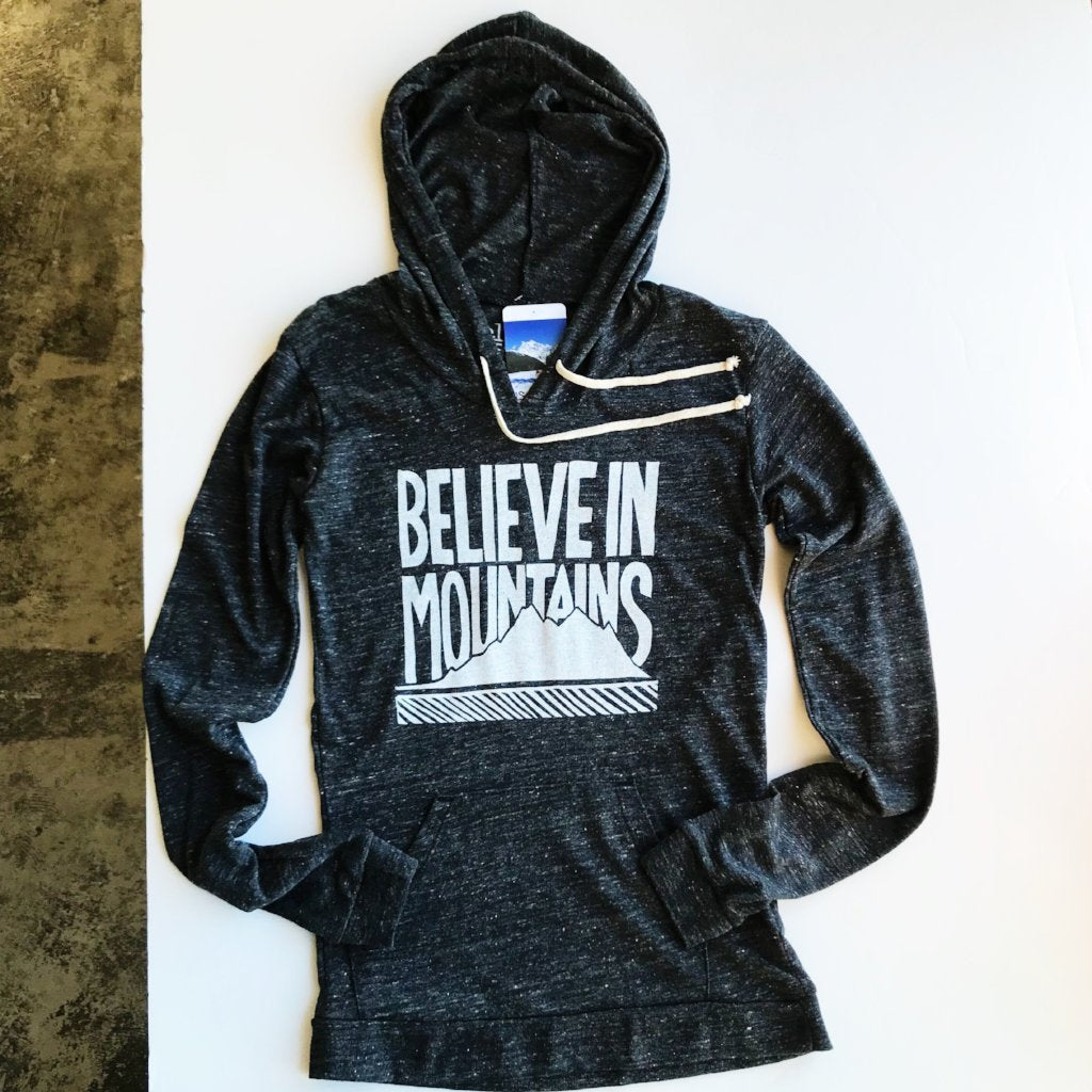 Believe in Mountains Eco Hoodie