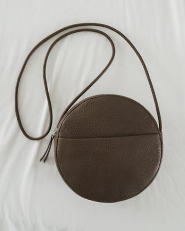 Leather Circle Purse
