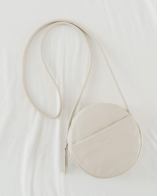 Mini Leather Circle Purse
