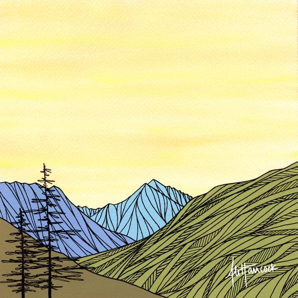 Icicle Canyon: Leavenworth, Wa Art Print