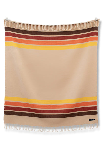 Sackcloth + Ashes Wool Blend Camp Blanket