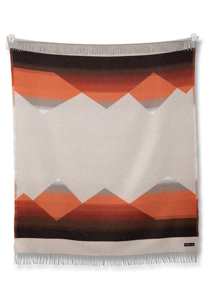 Sackcloth + Ashes Wool Blend Mountain Blanket