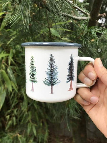 Enamel Camp Mug