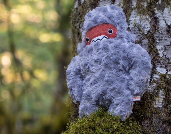 Woolly Sasquatch Monster Plush Toy
