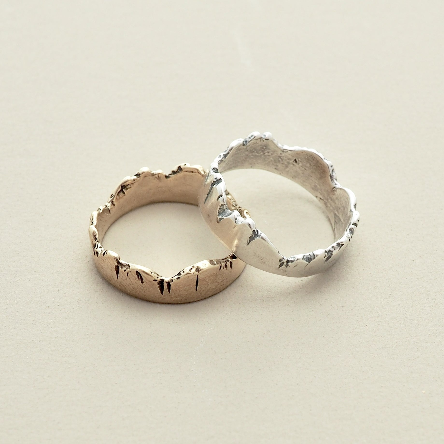 Mountain Range Ring