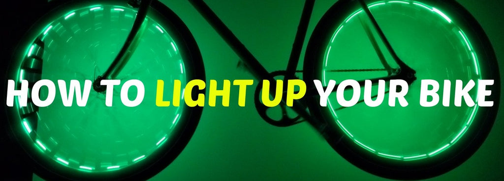 How to Light Up Your Bike?