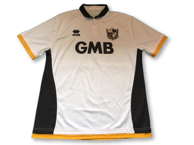 white errea Port Vale 2014-15 Home football Shirt