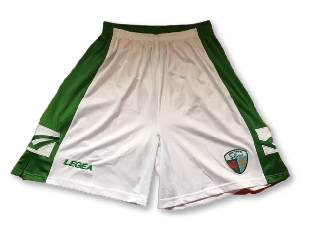 white legea The New Saints 2010-11 Home Shorts