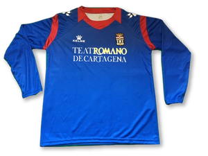 blue kelme FC Cartagena 2011-12 (Long Sleeved) 3rd football Shirt
