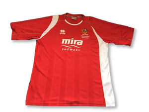 red errea Cheltenham Town 2008-10 Home football Shirt