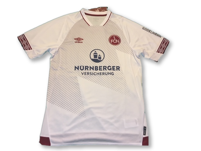 1.FC Nurnberg 2018-19 Away Shirt M