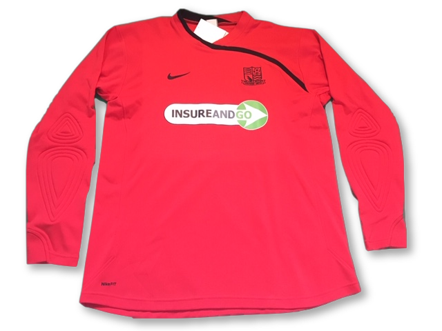 Southend United 2009-10 (Long Sleeved) Goalkeeper Shirt XL