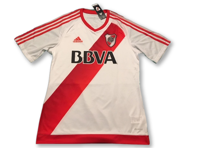 River Plate  2016-17 Home Shirt M