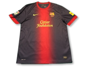 Navy nike Barcelona 2012-13 Home football Shirt