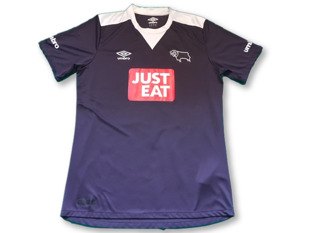 purple umbro Derby County 2015-16 Away football Shirt