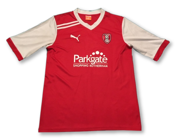 Rotherham United 2011-12 Home Shirt M