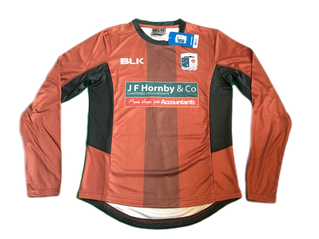 brown blk Barrow AFC 2018-19 Goalkeepers Football Shirt