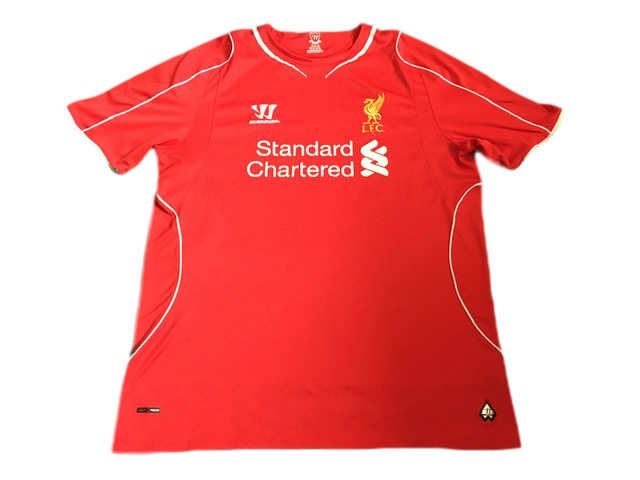 red warrior Liverpool 2014-15 Home Football Shirt