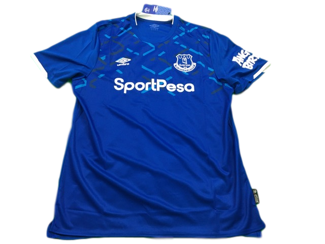 blue umbro Everton 2019-20 Home Football Shirt
