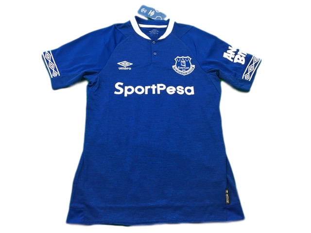 blue umbro Everton 2018-19 Home Football Shirt