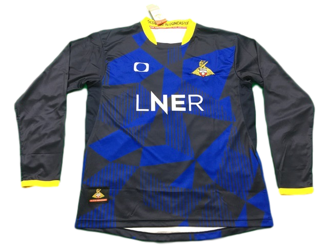 Navy & Blue elite pro sports Doncaster Rovers 2019-20 Away Football Shirt
