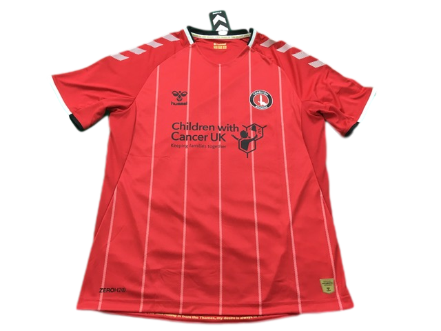 red hummel Charlton Athletic 2019-20 Home Football