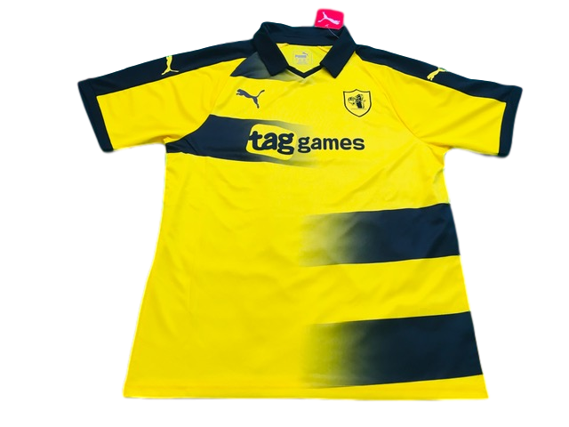 yellow puma Raith Rovers 2018-20 Away Football Shirt