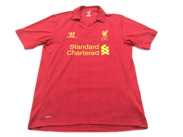 red warrior Liverpool 2012-13 Home Football Shirt