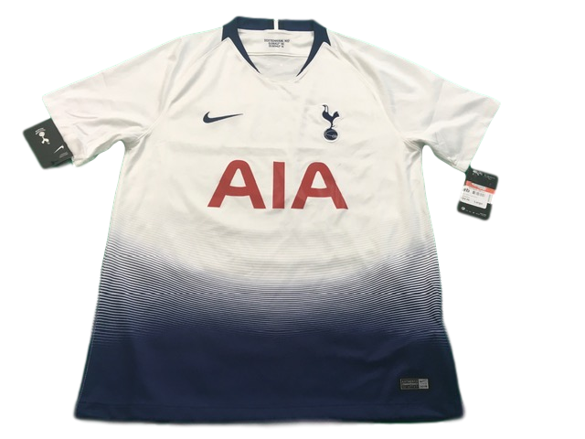 white nike Tottenham Hotspur 2018-19 Home Football Shirt