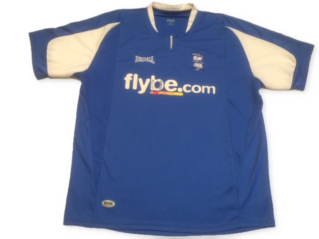 blue lonsdale Birmingham City 2005-06 Home football Shirt