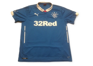 Rangers 2014-15 Home Shirt L