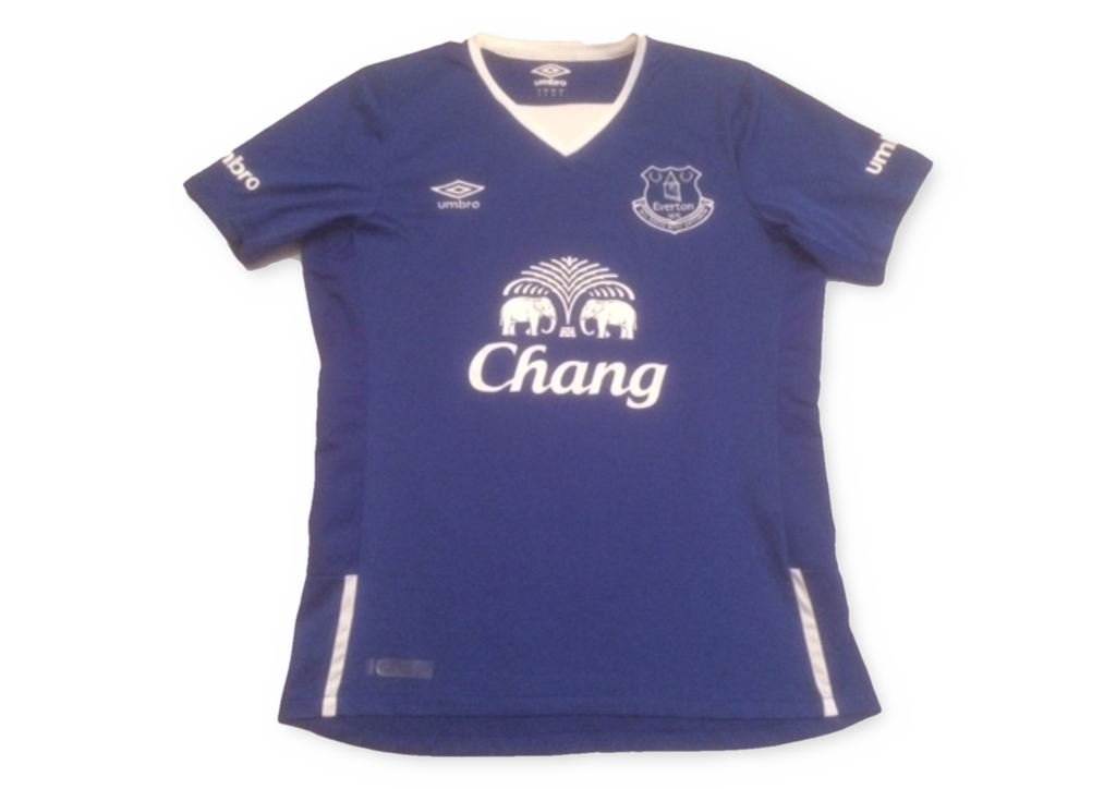 blue umbro Everton 2015-16 Home football Shirt