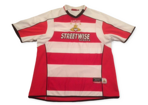 Doncaster Rovers 2005-06 Home Shirt L