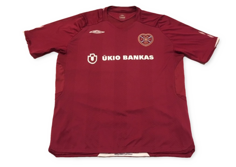 Heart of Midlothian 2008-09 Home Shirt XL