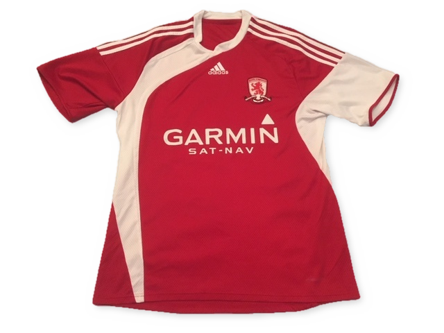Middlesbrough 2009-10 Home Shirt M