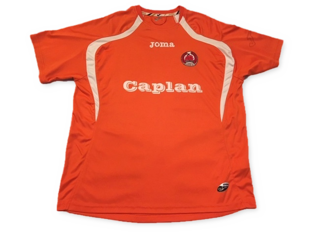 orange joma Clyde 2011-12 Away football Shirt