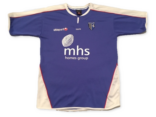 Gillingham 2005-06 Home Shirt M