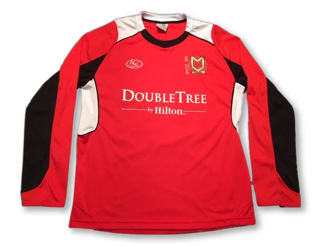 MK Dons 2010-11 Long Sleeved Away Shirt M