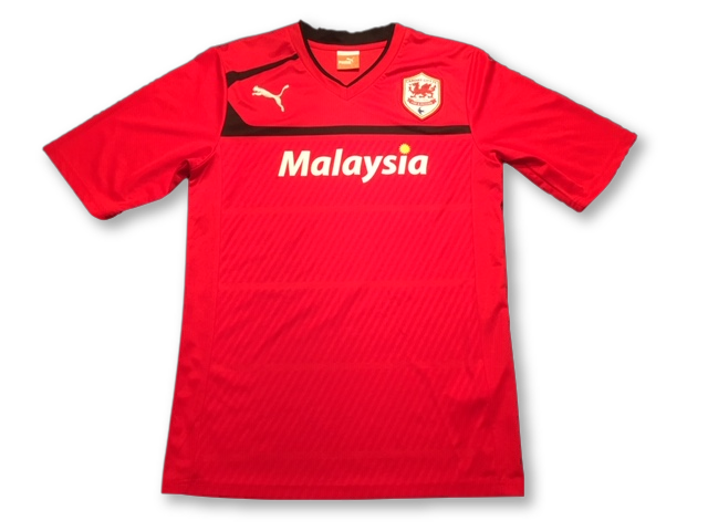 red puma Cardiff City 2012-13 Home football Shirt