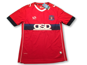 red sondico Carlisle United 2016-17 Away football Shirt