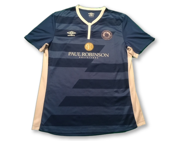 blue umbro Billericay Town 2017-19 Home football Shirt