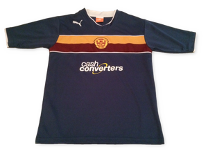 Motherwell 2012-13 3rd Shirt *Youth* 30/32