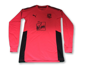 Tranmere Rovers 2017-18 (Long Sleeved) Goalkeepers Shirt M