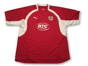 Bristol City 2007-08 Home Shirt XL