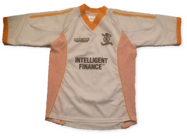 white jerzees Livingston 2002-03 Home football shirt