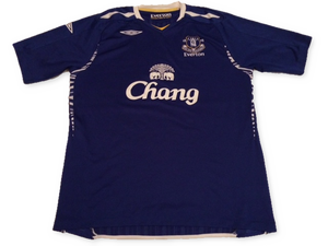 Everton 2007-08 Home Shirt XL