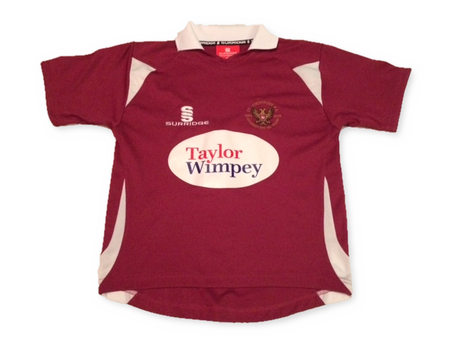 burgundy surridge St. Johnstone 2009-10 Away football Shirt